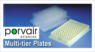 Porvair Multi-tier Plates